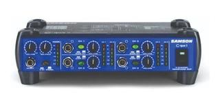 Samson Cque8 Amplif./mezcla Auriculares/monitor 4 Entradas/8