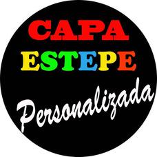 Capa Estepe Personalizada Com Sua Marca Logo Imagem Ou Foto