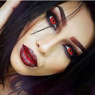 Lentes Disfraz Ojos Halloween