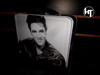 Elvis Presley, Lonchera De Metal, 8 Pulgadas, Tel.:35846340