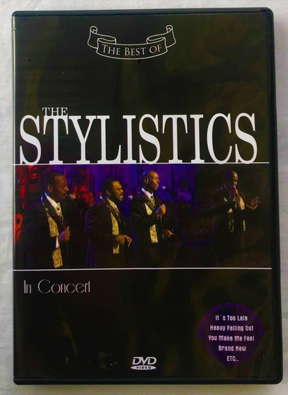 Dvd Video - The Best 0f The Stylistics In Concert