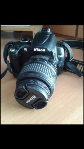 Máquina Fotográfica Nikon D5000 .. Completa .