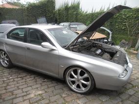 Sucata Alfa Romeu 166 3.0 V6 Motor, Cambio, Acabamentos