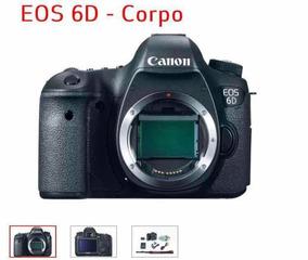 Canon 6d, 50mm + Cartão 32gb Etc