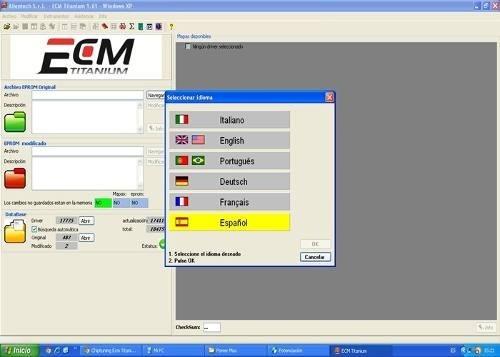 Ecm Titanium 26100 Drivers Soft of Tuning Remap Control Unit ECU Tuner ECM