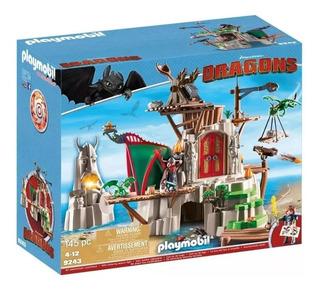 Gran Fortaleza Berk Dragons Isla Mema Playmobil 9243 Playlgh
