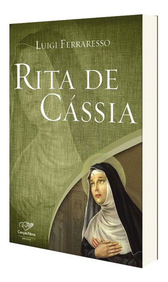 Livro Santa Rita De Cássia - Luigi Ferraresso - Biografia