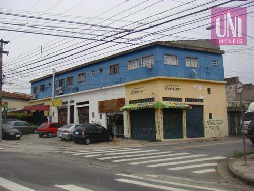 Sala  Comercial À Venda, Parque Das Nações, Santo André. - Sa0006