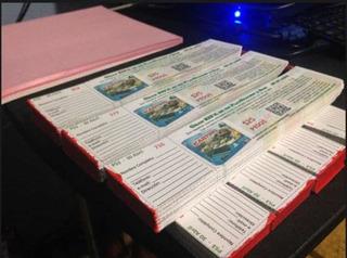 500 Boletos Con Pleca Y Folio A Todo Color Con Diseño Gratis