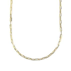 Corrente Semijoia Unissex Cartier 60 Cm Banho Ouro