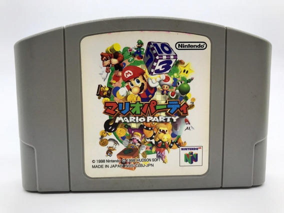 Mario Party Nintendo 64 100% Original Japones