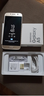 Galaxy A5 Dourado 2017 64gb Completo Dual Chip