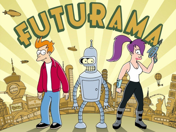 Serie Completa De Futurama Todas Las Temporadas