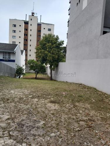 Terreno À Venda Com 416m² Por R$ 850.000,00 No Bairro Vila Izabel - Curitiba / Pr - Te0064