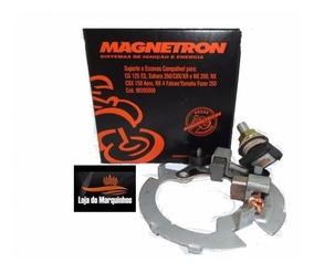 Porta Escova Motor Fazer 250 Até 2012 Cod 90205000