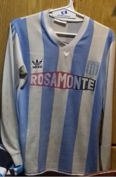 Camiseta De Racing Club adidas 1991 Rosamonte