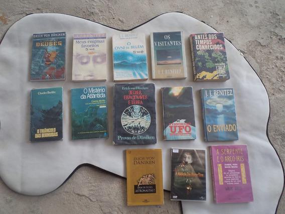 Coletânea Com Raros Livros De Mistérios