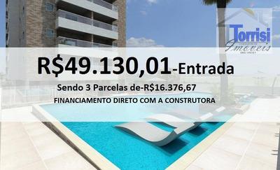 Apartamento Em Praia Grande, 02 Dormitórios Sendo 01 Suíte, 01 Vaga. Lazer Completo No Forte Ap1543 - Ap1543