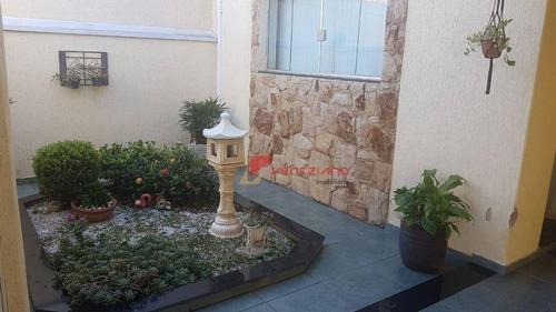 Casa Com 3 Dormitórios À Venda, 146 M² Por R$ 400.000,00 - Jardim Sonia - Piracicaba/sp - Ca0742