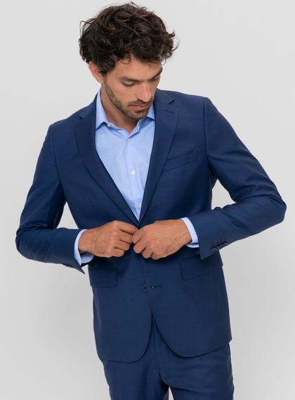 Ambo Traje Clasico Saco Semi Entallado + Pantalón Chupin