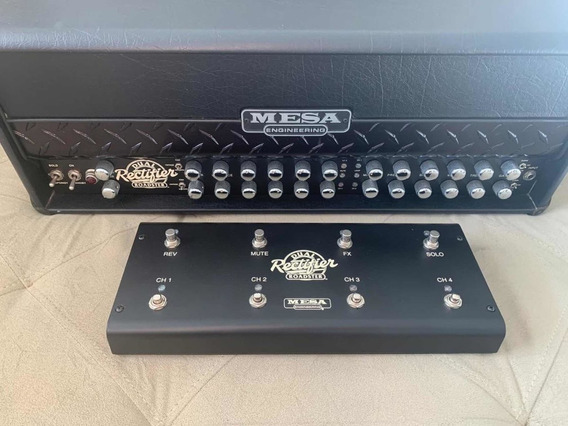 Mesa Boogie Dual Rectifier Roadster - Completo Impecável