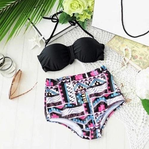 Trajes De Baño Dama Moda Bikini Envio Gratis Talla 5 A 9