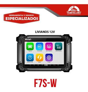 Escaner Multimarca Livianos 12v Fcar F7s-w - Tecnotalleres