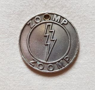 Chaveiro Marca Zoomp-marcou Época