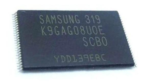 Memoria Nand Un32d5500 Un40d5500 D5500 Gravada K9gag08u0e