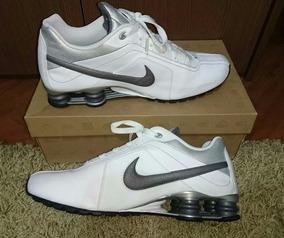 Tênis Nike Shox Conundrum 43br Couro - Original C/ Caixa