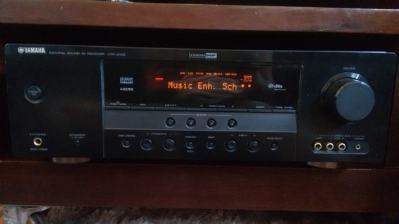 Receiver Yamaha Htr-6130 Home Theater C/ Controle - Barato