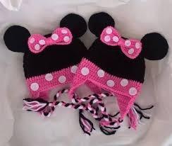 Gorro De Minnie Tejido A Crochet