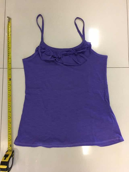 Musculosa Zara Violeta