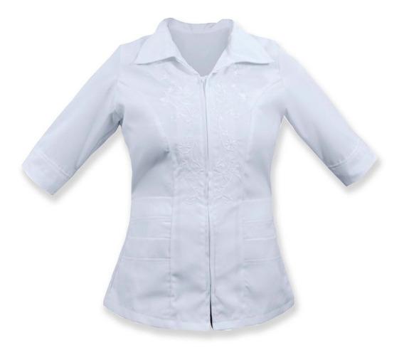Uniforme De Enfermeria Para Dama Con Cierre K10