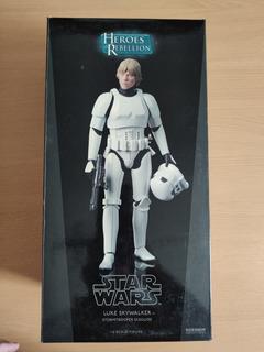 Star Wars Heroes Of Rebellion Luke & Han Solo Stormtrooper