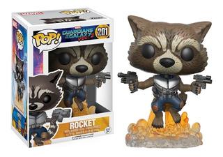 Funko Pop Marvel Rocket Original #201
