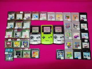 Consola Game Boy Color Con Un Juego A Escoger *con Garantia*