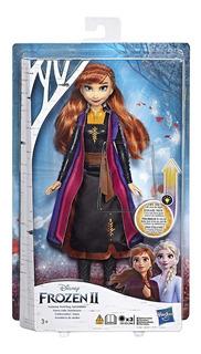 Muñeca De Moda De Disney Frozen 2 Anna Que Se Ilumina Hasbro