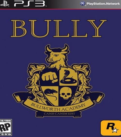 Bully Classico Do Ps2 - Psn Ps3 Pronta Entrega