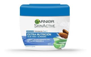 Crema Humectante Nutritiva 200ml Hidratante 3 En 1 Garnier