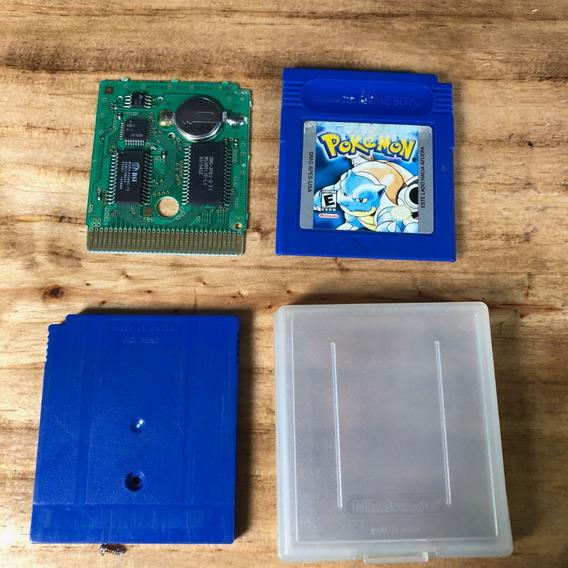 Pokemon Blue Americano Ed. Textos Em Espanhol!! Raríssimo!