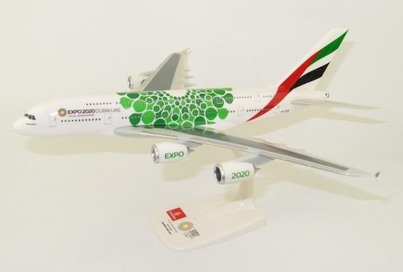 Miniatura Emirates Airbus A380-800 Expo 2020 Herpa 1/250