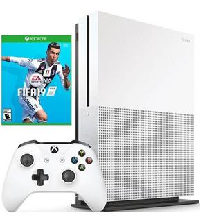 Xbox One S 1t + Fifa 19. Físico. Nueva. Garantia 1 Año