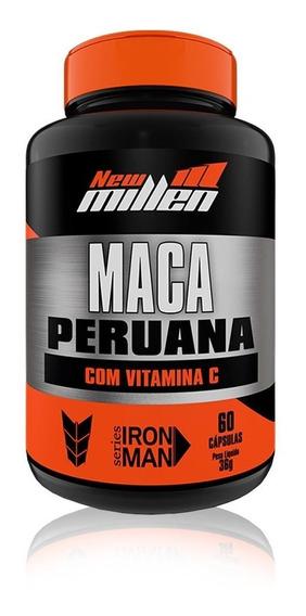 Maca Peruana Com Vitamina C 60 Caps - New Millen