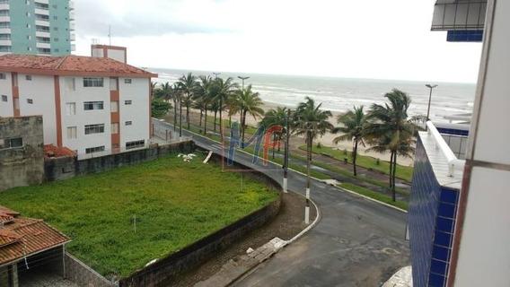 Ref 10.561 Apartamento No Jardim Real Praia Grande De Frente Para O Mar, Com 1 Dorm, 1 Vaga, 42 M² ,elevador E Sacada. Aceita Permuta - 10561