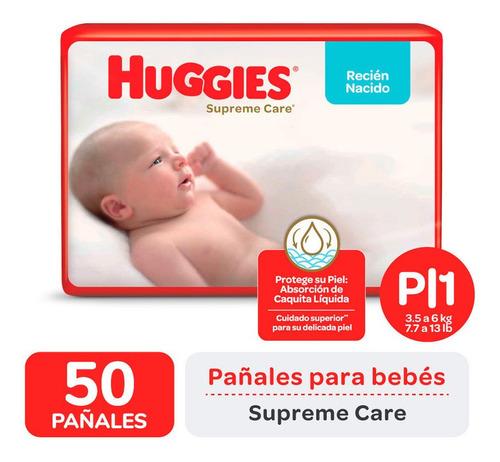 Pañales Huggies Supreme Care Ahorrapack P X 50 Unidades