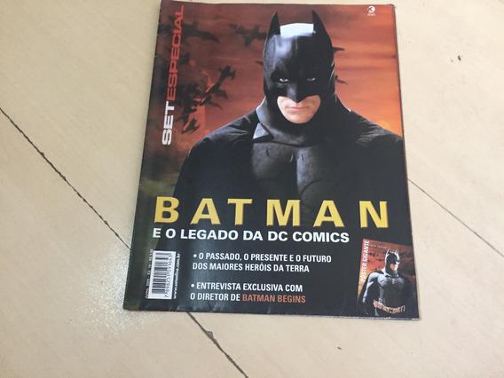 Revista Set Especial 19 Mega Pôster Batman Dc Comics G547