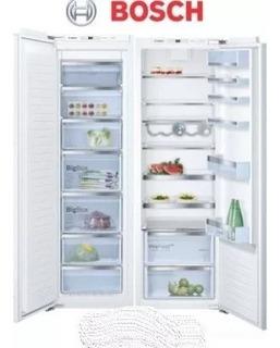 Combo Panelable Bosch Kir81af30 Freezer Gin81ae30 Ahora 12