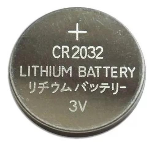Bateria Cr 2032 3v Lithium Cartela C/5 Un Placa Mãe Pis Bike