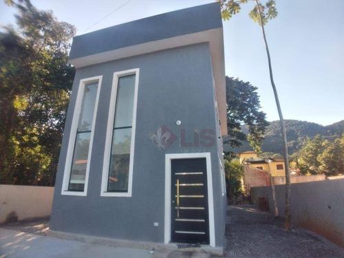 Imagem 1 de 22 de Casa Com 3 Dormitórios À Venda, 268 M² Por R$ 699.000,00 - Mar Verde Ii - Caraguatatuba/sp - Ca1407